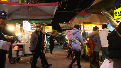 night market scene 4 Animation