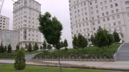Turkmenistan, Ashgabat stock footage