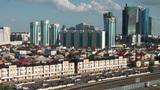 Skyline of Astana Footage