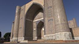 Mosque in Samarkand Uzbekistan Footage
