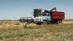 Agriculture in former Soviet Union Footage