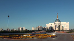 Presidential palace in Astana Kazakhstan Footage
