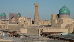 Skyline Bukhara Uzbekistan Footage