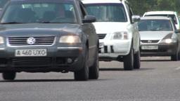 Traffic Almaty Kazakhstan Footage