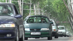 Traffic Dushanbe Footage