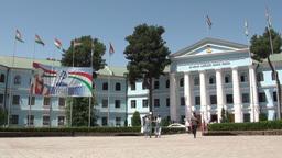 University Dushanbe Tajikistan Footage