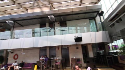 Inside the trader hotel sky bar Footage