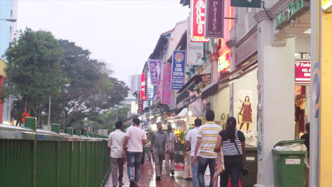 Little india Singapore 2 Footage