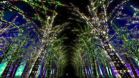 illumination tree neon 2 Dd 2s HD Animation