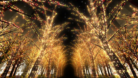 illumination tree neon 2 Dd 4 HD Animation