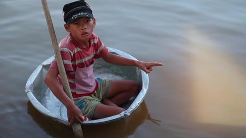 Boy, Cambodia Footage