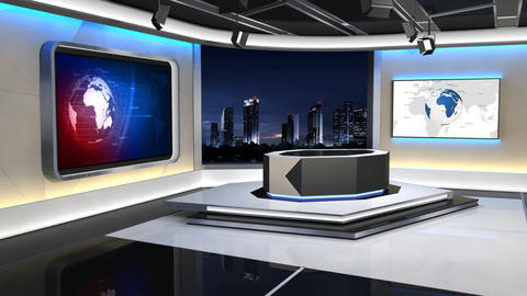 News Studio 99 C 1 HD Animation