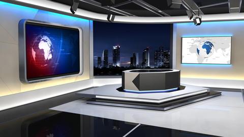 News Studio 99 C 1 HD Animation