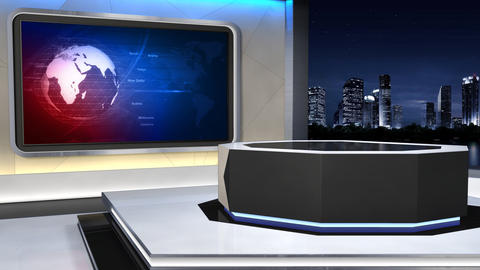 News Studio 99 C 3 HD Animation