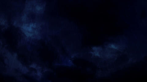 Storm clouds Animation