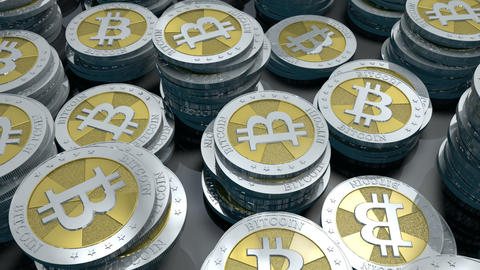Bitcoin Loop stock footage