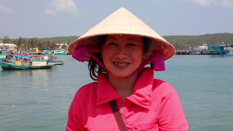 Vietnamese woman Footage