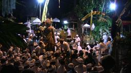 Hindu/Balinese ceremony in Sanur 13 November 2011 Footage