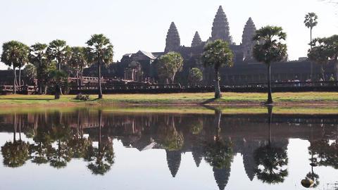 Angkor Wat In Cambodia Footage
