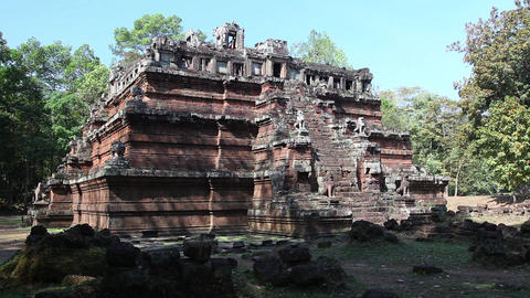 Angkor stock footage