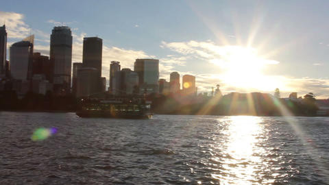 Australia Sydney downtown CBD towers and skyscrape Footage