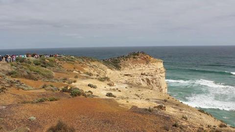 Great Ocean Road, Victoria, Australia Footage
