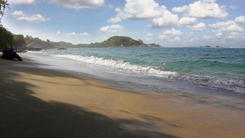 Paradise Beach 01 Footage