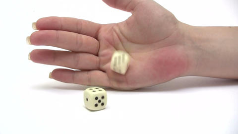 Rolling Dice Footage