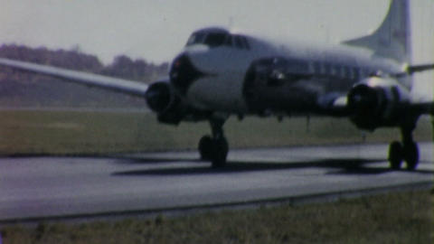 Eastern Airlines Airplane Prepares To Take Off 195 Footage