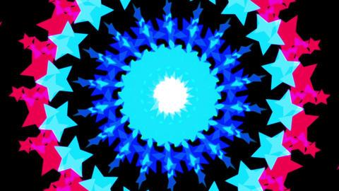 loopable circularly star HD Animation