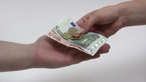 Euro Change Footage