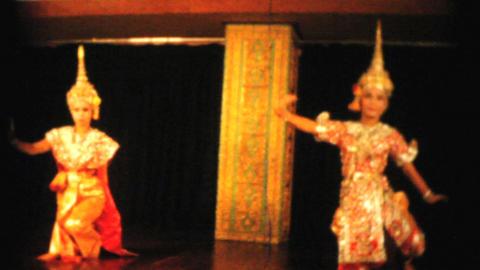 Traditional Thai Dancers Perform 1958 Vintage 8mm Footage