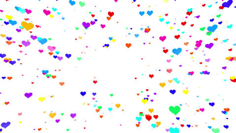 Sparkle Heart Particles W MA 1 HD CG動画
