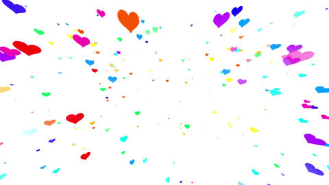 Sparkle Heart Particles W MB 1 HD Animation