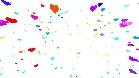 Sparkle Heart Particles W MB 1 HD CG動画