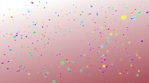Sparkle Heart Particles W SA 1 HD Animation