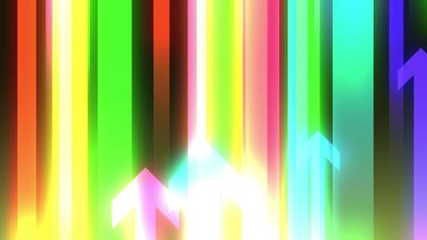arrow flows upwards 4K2K Animation