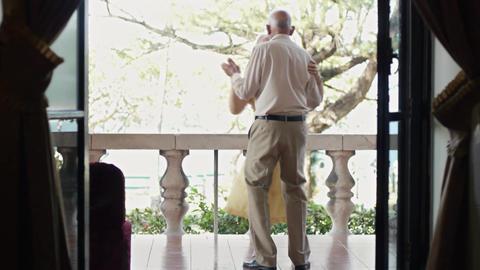 Seniors stock footage