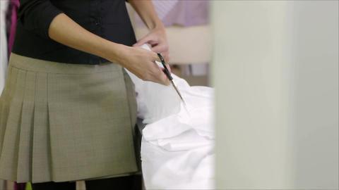 Fashion Designer stock footage