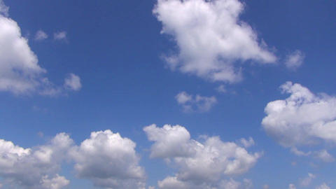 cloud with blue sky time lapse Live影片