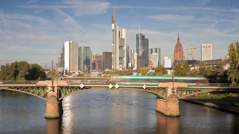 Frankfurt, Germany Footage