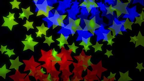 loopable circularly star B HD, Stock Animation