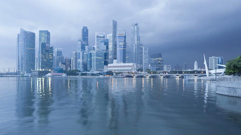 Singapore, South East Asia Footage