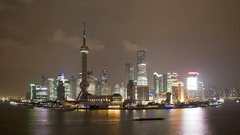 Shanghai, China stock footage