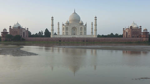 Taj Mahal, UNESCO World Heritage Site, Agra, Uttar Footage