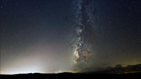 Milky Way Galaxy Stars Time Lapse 11316 stock footage