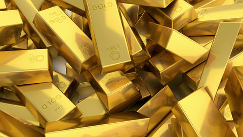 Bars Of Gold stock footage