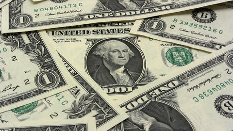 Dollar Zoom stock footage