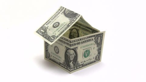Money House stock footage