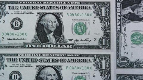 Printing Dollars Footage